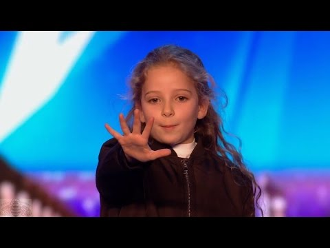 Britain s Got Talent 2017 Issy Simpson Amazing 8 Year Old Magician IRL Hermione Full Audition S11E02