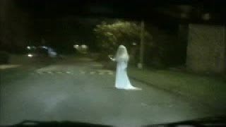horror real gost in street
