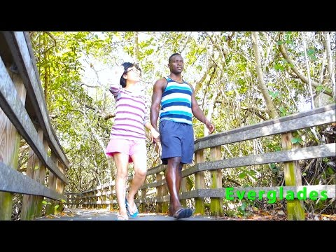 MAKING LOVE AT EVERGLADES...POLICE SHOWED UP!!- USA Road Trip #14 미국여행 에버글래이즈 플로리다