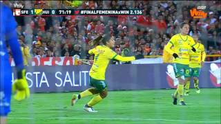 Gol Leicy Santos a Huila   Final vuelta Liga Femenina Aguila   Win Sports