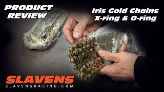 Iris Gold O-ring & X-ring Chains - Product Review