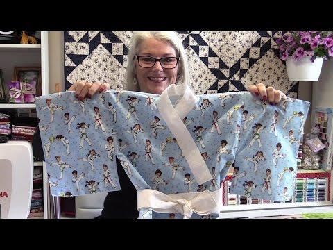 How to Make a Childs Kimono