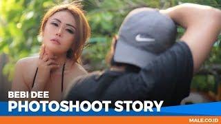 Model Mungil BEBI DEE Menggemaskan di Behind the Scenes Photoshoot - Male Indonesia