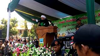 Puluhan Ribu Santri Garut Terlena Pada Dakwah Habib Umar bin Husein Assegaff Majalaya