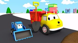 The Muddy Road : Learn Colors with Ethan the Dump Truck | Educational cartoon for children
