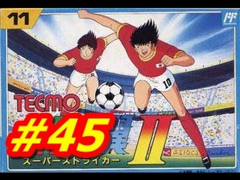 Captain Tsubasa 2 NES 45 Japan vs. Brazil 2 2 English HD