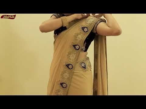 Xxx Mp4 How To Wear Heavy Saree Perfectly Party Sari Draping Idea To Look Slim Tall In Proper Pleats 3gp Sex