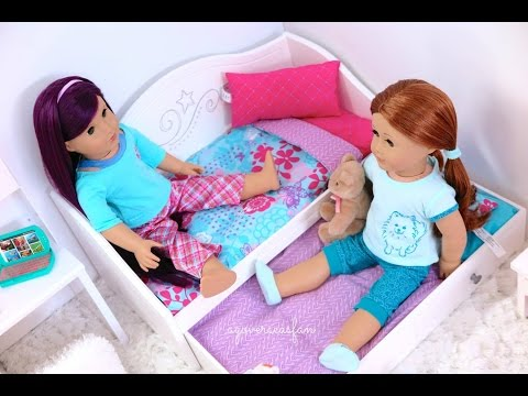All My American Girl Doll Beds
