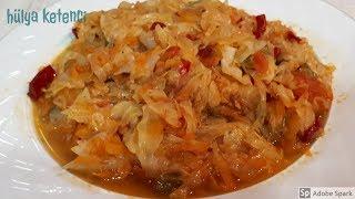 Vitamin Deposu Beyaz Lahana ( Kelem) Yemeği Tarifi - Hülya Ketenci - Yemek Tarifleri