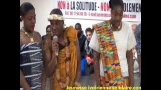 Jeunesse ivoirienne solidaire présente la tradition ivoirienne