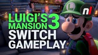 Luigi's Mansion 3 Nintendo Switch Gameplay | E3 2019