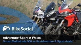 Group Test: Ducati 950 Multistrada vs Triumph Tiger Sport vs Honda Africa Twin DCT