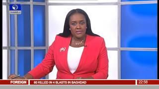 News@10: Osimhen,Nwakali Lead Flying Eagles To Burundi 17/05/16 Pt 4