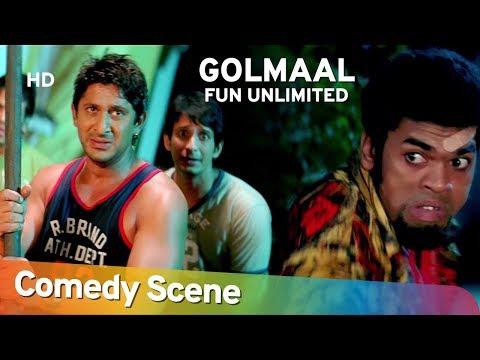 Golmaal Fun Unlimited - Arshad Warsi - Tusshar Kapoor - Hit Comedy Scene - Shemaroo Bollywood Comedy