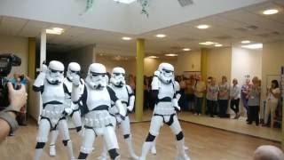 Britain's Got Talent stars Boogie Storm perform for patients