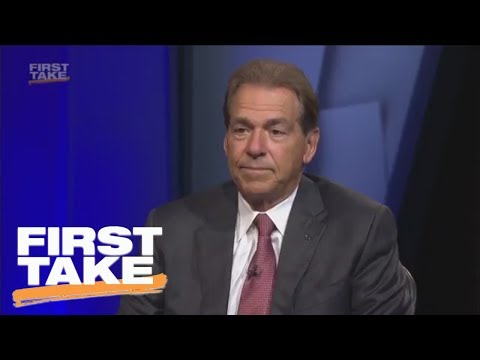 Nick Saban On Alabama s Loss To Clemson In National Championship First Take ESPN