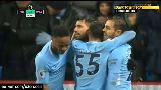 Man City vs West Brom 3 0   Highlights & Goals English Commentary 31⁄01⁄2018 HD⁄1080P