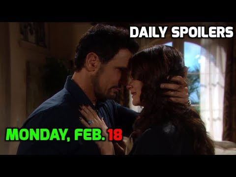 Xxx Mp4 BB Daily Spoilers Monday Feb 18th The Bold And The Beautiful Spoilers February 18 2019 3gp Sex