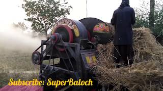 | Wheat Thresher | Massey 375 Tractor | Complete video | Agriculture and Farming in Pakistan |