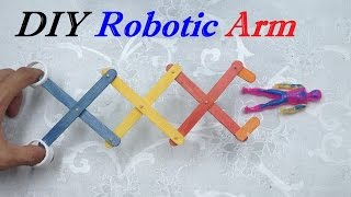 How to make a Robotic Arm - Easy and Simple