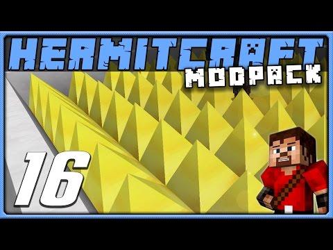HermitPack Ep 16 GOLDEN DEATH MACHINE Minecraft 1.10 Modded