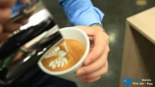 -Latte Art -  Barista jinkyu KIM
