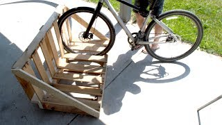 Build a Pallet Bike Rack