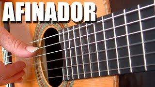 Afinador De Guitarra Criolla -Clásica -Española -Acústica (Cuerdas De Nylon) / Afinación La 440 TCDG