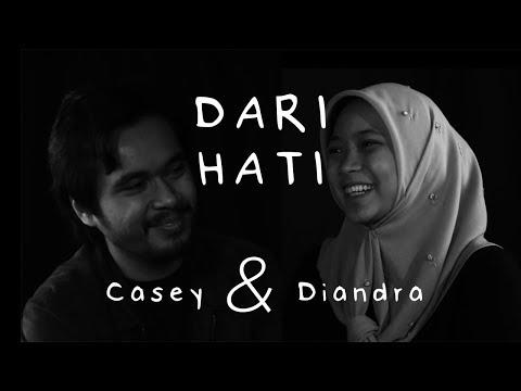 7. Dari Hati Pasangan yang Menikah Muda, Casey & Diandra