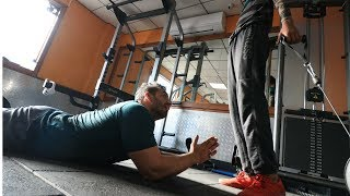 HUTIYAAPA in the Gym | FitMuscle TV