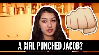 A GIRL PUNCHED JACOB SARTORIUS! (REACTION VIDEO)