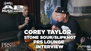 APMAs 2017 Interview: COREY TAYLOR | PRS Lounge