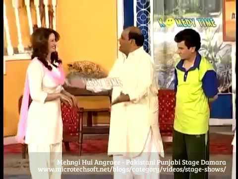 Stage Damara Mehngi Hui Angraee - New Pakistani Punjabi Stage Damara Part 3