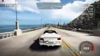 Need For Speed Hot Pursuit (2010) - Grand Ocean Coast - Roadsters Reborn - 720p PC Gameplay with FPS