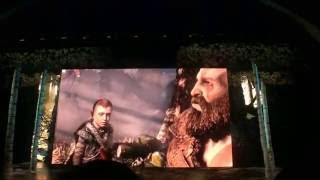 """【E3 2016】Sony PlayStation """"God of War"""" Press Conference Opening
