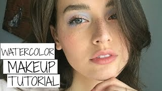 Natural Spring Watercolor Makeup Tutorial | Jessica Clements