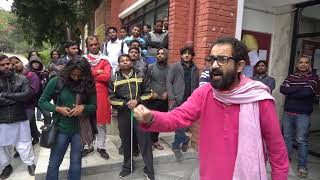 Abhay Kumar Expresses Deep Concern Over Anti-student JNU Librarian & Administration
