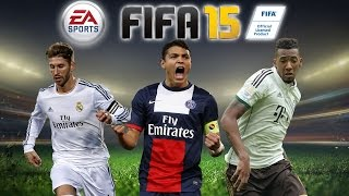 FIFA 15 Top 10 Defenders (CB - Centre Backs) OFFICIAL Ratings