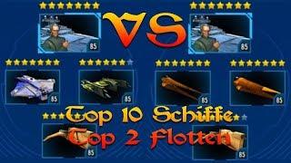 Top 10 Schiffe + Top 2 Flotten = Platz 1 In Der Flotte ▶ Tutorial ▷ Star Wars: Galaxy Of Heroes