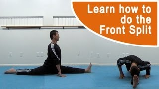 Learn How to do the Front Split Tutorial for Martial Arts, Gymnastics and Cheerleading