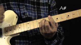 The Isley Brothers Who's That Lady Guitar Lesson