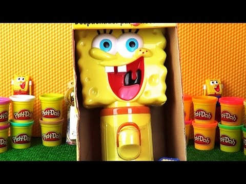Spongebob squarepants full of suprise candy toy new episode with funny song unboxing for kids