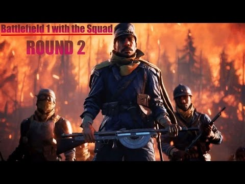Battlefield One LIVE STREAM: Playing with xXx Clan (Round 2!!)
