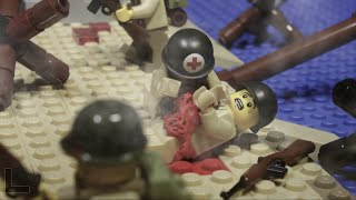 LEGO WW2 BATTLE: NORMANDY D-DAY LANDING - LEGO SAVING PRIVATE RYAN