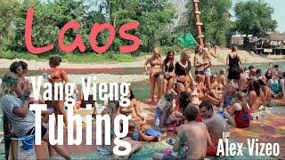 LAOS : Tubing à Vang Vieng Tubing