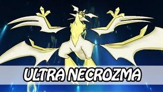 Ultra Necrozma - Transformation + Z-MOVE - Light That Burns The Sky