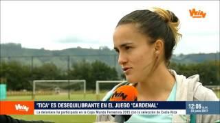 Melissa Herrera, el revulsivo cardenal   Win Sports