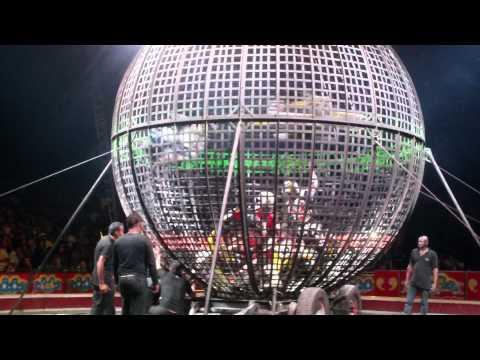 accidente del globo de la muerte en el circo los valentinos