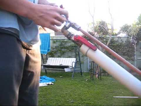 Homemade PVC Metal Airgun