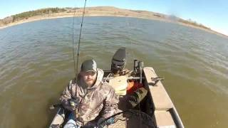 Spring Walleye Fishing In ND 2016